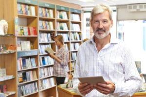 small business bookstore owner needs wordpress website maintenance